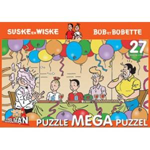 "PuzzelMan (358) - ""Bob and Bobette, Tart with cream"" - 27 pieces puzzle"