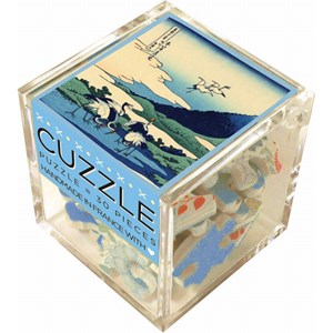 """Puzzle Michele Wilson (Z22) - Hokusai: """"Manor in Sagami Province"""" - 30 pieces puzzle"""