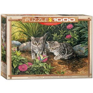 "Eurographics (6000-0796) - Rosemary Millette: ""Double Trouble"" - 1000 pieces puzzle"