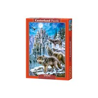 "Castorland (C-151141) - ""Wolves in Front of the Castle"" - 1500 pieces puzzle"