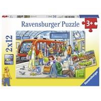 "Ravensburger (07611) - ""Please get in!"" - 12 pieces puzzle"