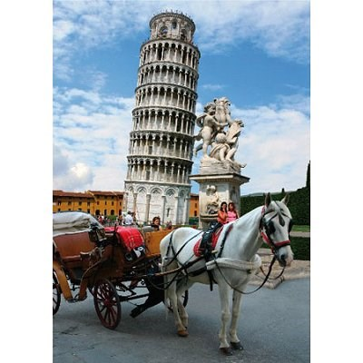 """D-Toys (64288-FP03) - """"Pisa Tower, Italy"""" - 1000 pieces puzzle"""