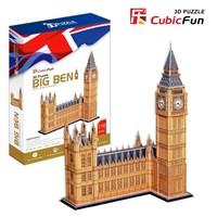 "Cubic Fun (MC087H) - ""Big Ben"" - 117 pieces puzzle"