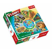 "Trefl (39055) - ""Planet"" - 24 pieces puzzle"