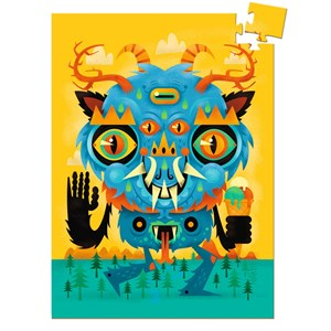 """Djeco (07673) - """"The Monster"""" - 60 pieces puzzle"""