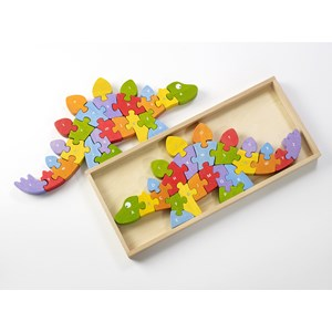 "Begin Again (I1204) - ""Dinosaur A-Z Puzzle"" - 26 pieces puzzle"