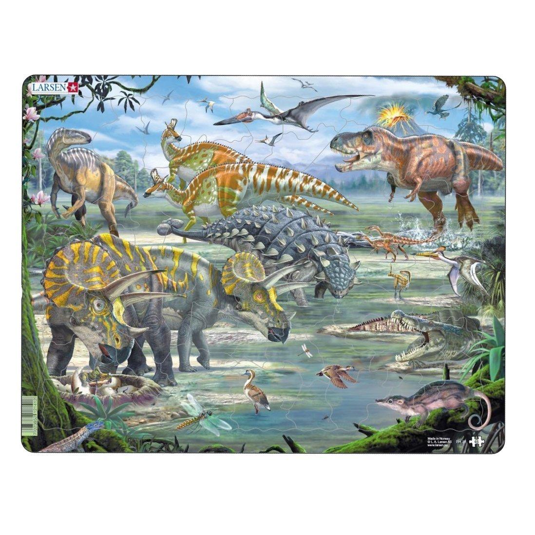 Larsen FH31/Dinosaurier Puzzle