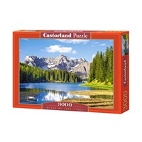 "Castorland (C-300198) - ""Misurina Lake, Italy"" - 3000 pieces puzzle"
