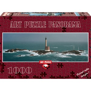 "Art Puzzle (4341) - Philip Plisson: ""Les Roches-Douvres Lighthouse"" - 1000 pieces puzzle"