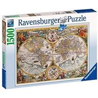 "Ravensburger (16381) - ""Historical map"" - 1500 pieces puzzle"