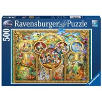 "Ravensburger (14183) - ""Disney Family"" - 500 pieces puzzle"