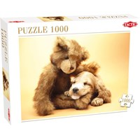 "Tactic (40912) - ""Puppy and A Teddy"" - 1000 pieces puzzle"