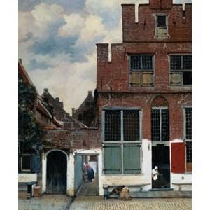 "PuzzelMan (386) - Johannes Vermeer: ""The Little Street"" - 1000 pieces puzzle"
