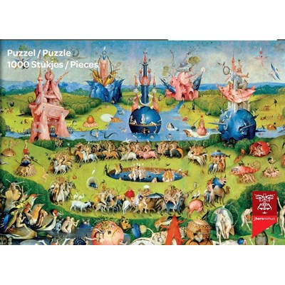 "PuzzelMan (765) - Hieronymus Bosch: ""The Garden of Delights"" - 1000 pieces puzzle"