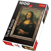 "Trefl (10002) - ""Mona Lisa"" - 1000 pieces puzzle"