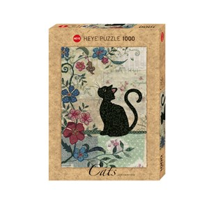 """Heye (29808) - Jane Crowther: """"Cat & Mouse"""" - 1000 pieces puzzle"""