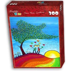 """Grafika Kids (01715) - Anne Poire, Patrick Guallino: """"Signes et Sillons de Bonheur"""" - 300 pieces puzzle"""
