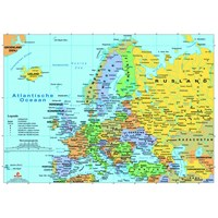 """PuzzelMan (123) - """"Map of Europe"""" - 1000 pieces puzzle"""