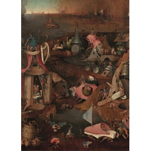 "PuzzelMan (767) - Hieronymus Bosch: ""The Last Judgment"" - 1000 pieces puzzle"