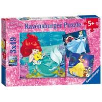 """Ravensburger (09350) - """"Princess Adventure"""" - 49 pieces puzzle"""