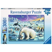 "Ravensburger (13203) - ""Polar Animals Gathering"" - 300 pieces puzzle"