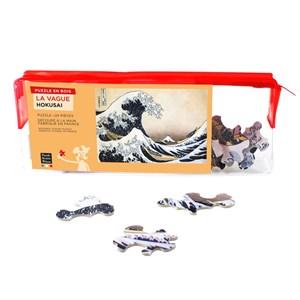 """Puzzle Michele Wilson (W448-24) - Hokusai: """"The Wave"""" - 24 pieces puzzle"""