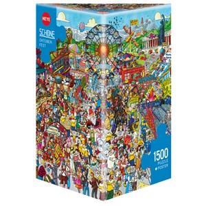 """Heye (29842) - Christoph Schöne: """"Oktoberfest"""" - 1500 pieces puzzle"""
