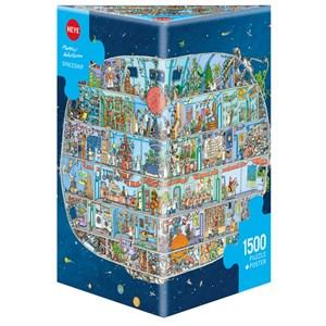 """Heye (29841) - Mattias Adolfsson: """"Spaceship"""" - 1500 pieces puzzle"""