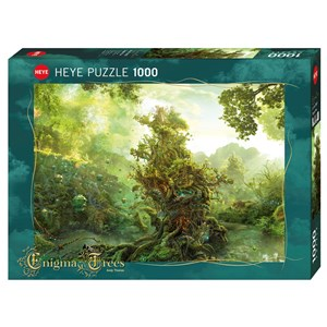 """Heye (29827) - Andy Thomas: """"Tropical Tree"""" - 1000 pieces puzzle"""