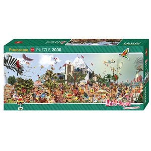 "Heye (29824) - Sanda Anderlon: ""At The Beach"" - 2000 pieces puzzle"