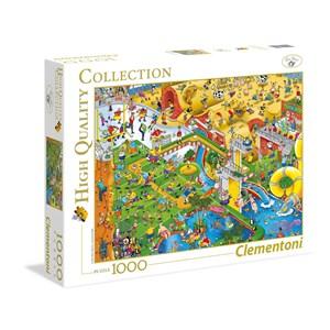 """Clementoni (39314) - Steve Skelton: """"Complez Sports"""" - 1000 pieces puzzle"""