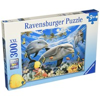 """Ravensburger (13052) - """"Dolphins' Ball"""" - 300 pieces puzzle"""