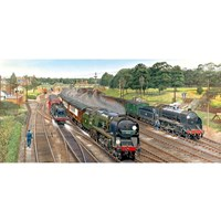 """Gibsons (G4018) - """"New Forest Junction"""" - 636 pieces puzzle"""