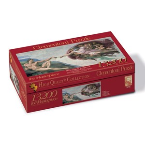 "Clementoni (38004) - Michelangelo: ""The Creation of Adam"" - 13200 pieces puzzle"