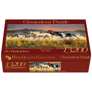 "Clementoni (38006) - James Hautman: ""Band Of Thunder"" - 13200 pieces puzzle"