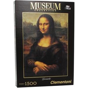 "Clementoni (31974) - Leonardo Da Vinci: ""Mona Lisa"" - 1500 pieces puzzle"