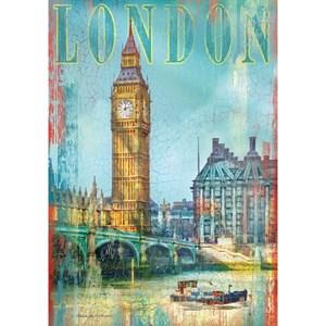 "Clementoni (37035) - Patrick Reid O'Brien: ""United Kingdom, London, Big Ben"" - 500 pieces puzzle"