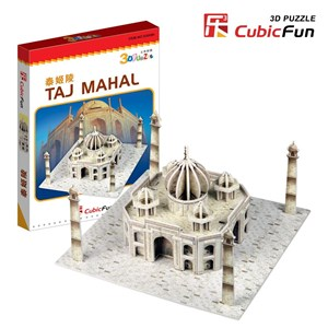 "Cubic Fun (S3009H) - ""Taj Mahal"" - 39 pieces puzzle"