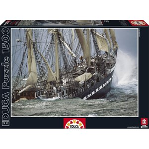 "Educa (16003) - Philip Plisson: ""Belem"" - 1500 pieces puzzle"