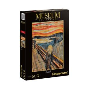 "Clementoni (30505) - Edvard Munch: ""The Scream"" - 500 pieces puzzle"