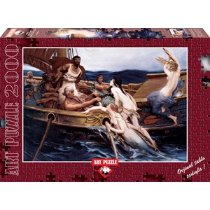 "Art Puzzle (4701) - Herbert James Draper: ""Ulysse and the Sirens"" - 2000 pieces puzzle"
