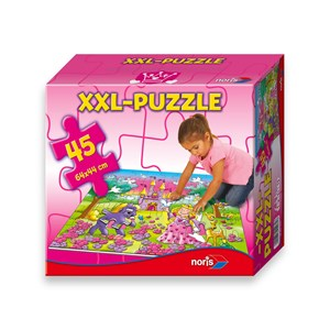 "Noris (6060-34961) - ""Princess"" - 45 pieces puzzle"