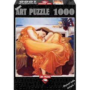 "Art Puzzle (81045) - Frederic Leighton: ""Flaming June"" - 1000 pieces puzzle"