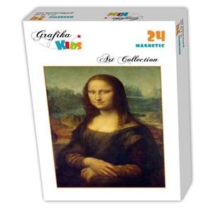 "Grafika Kids (00218) - Leonardo Da Vinci: ""Leonardo da Vinci, 1503-1506"" - 24 pieces puzzle"