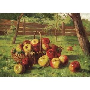 """Gold Puzzle (60768) - Karl Vikas: """"Apple Harvest"""" - 500 pieces puzzle"""