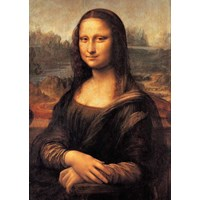 "Clementoni (30363) - Leonardo Da Vinci: ""Mona Lisa"" - 500 pieces puzzle"