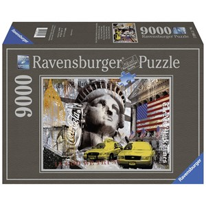 "Ravensburger (17803) - ""New York City"" - 9000 pieces puzzle"