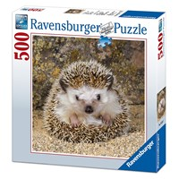 "Ravensburger (15224) - ""Cute Hedgehog"" - 500 pieces puzzle"
