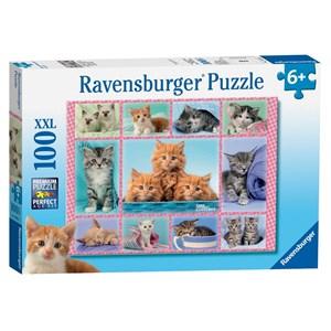 "Ravensburger (10530) - Greg Cuddiford: ""Cute Kitten"" - 100 pieces puzzle"