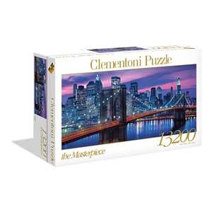 "Clementoni (38009) - ""New York"" - 13200 pieces puzzle"